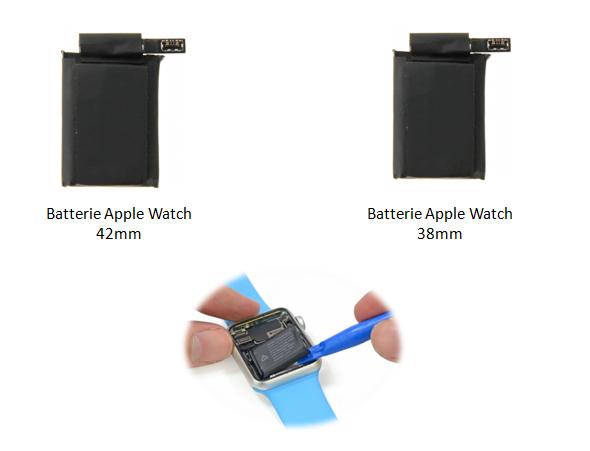 apple-watch-pièce-détachée-batterie