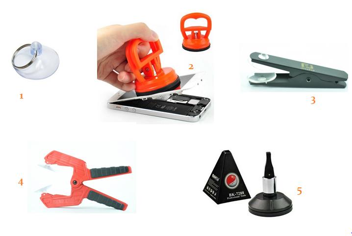 ventouses-réparations-smartphones-tablettes-outils