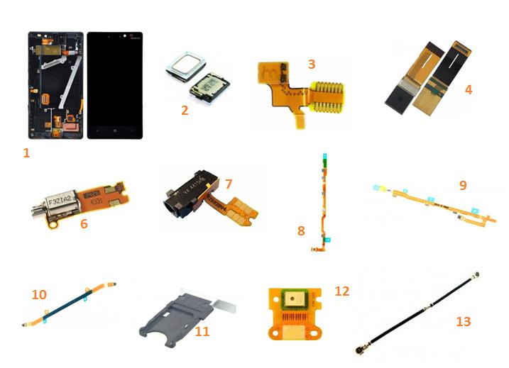lumia-930-pieces-detachees