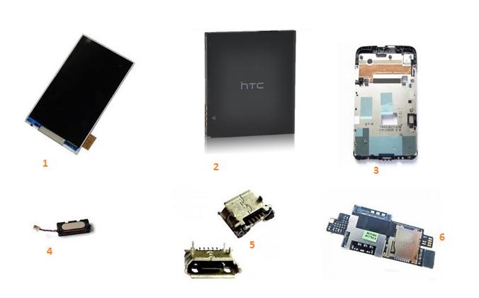 pièce-remplacement-HTC-desire