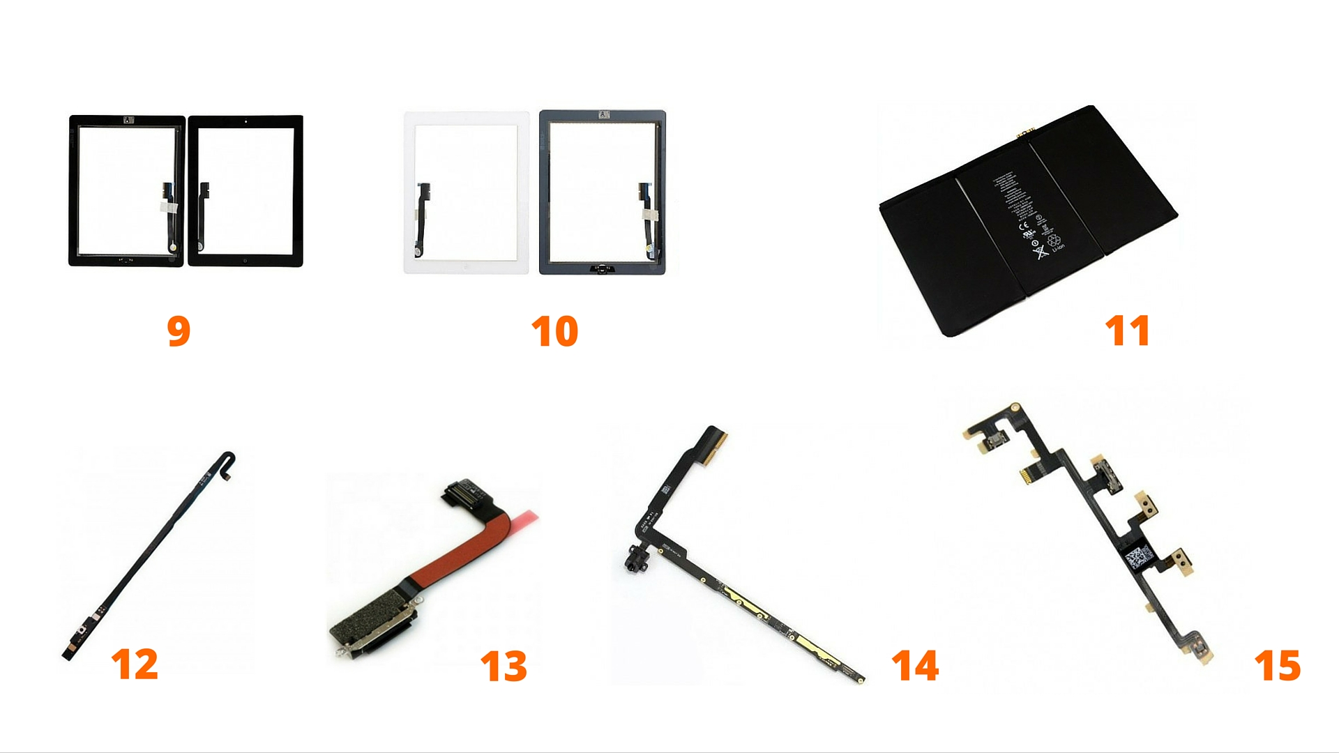 ipad-4-remplacement-pieces