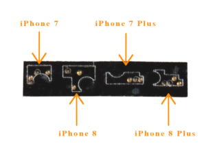 nappe de liaison iphone 7-8