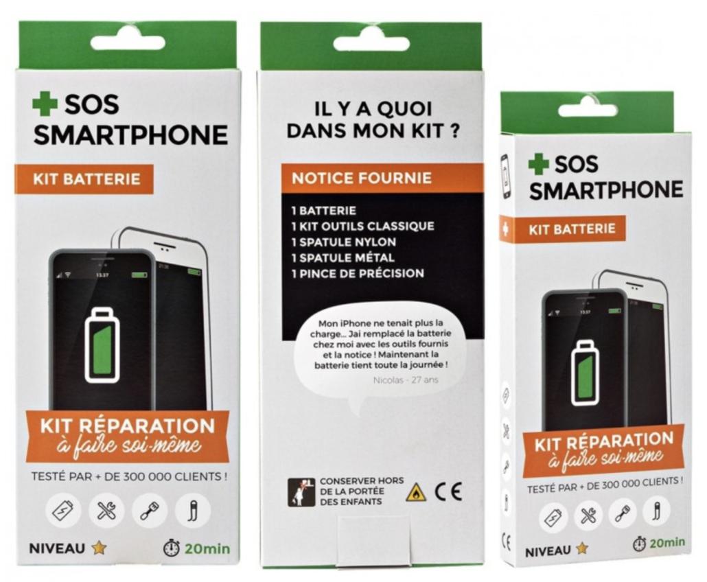 Kit réparation batterie iPhone