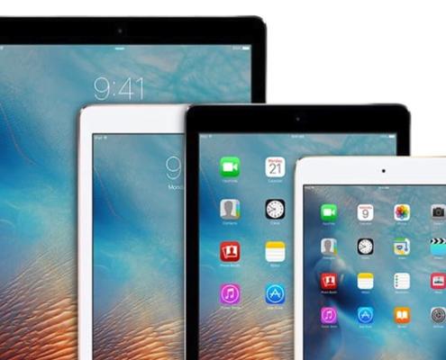 les-différents-modèles-iPad