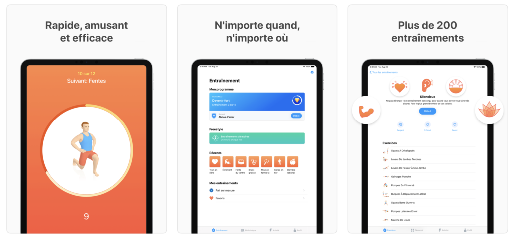 interface application seven