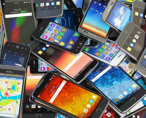 l'histoire des smartphones