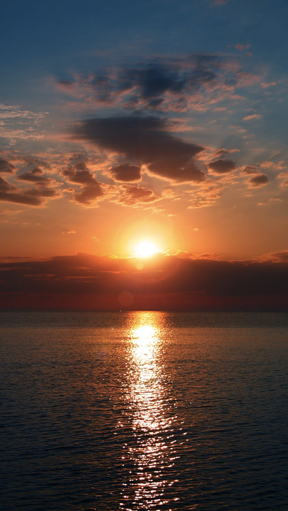 Fond d'écran iPhone sunset