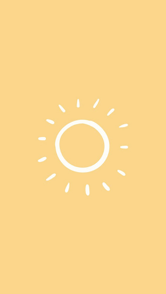 Fond d'écran iPhone soleil