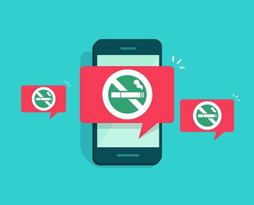 Applications arrêter de fumer