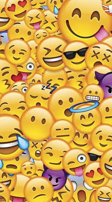 Fond d'écran emojis