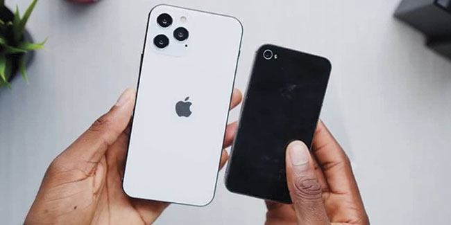 iPhone 12 VS iPhone 4