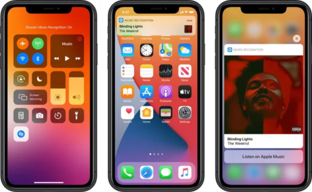 Shazam iOS 14.2