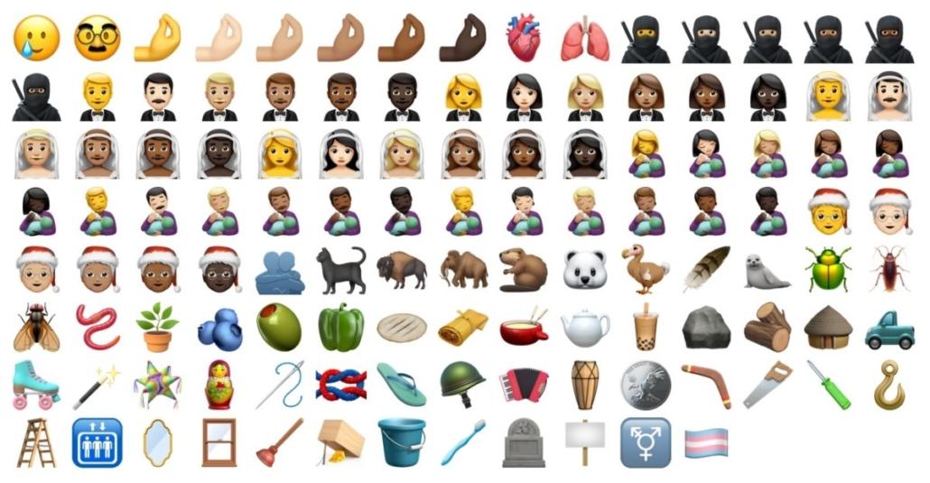 Emojis iOS 14.2