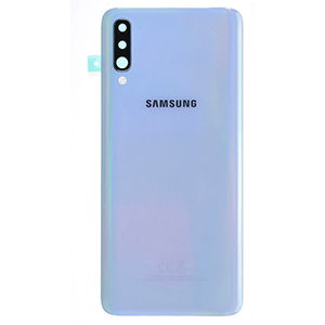 Vitre arrière Galaxy A70 Blanc