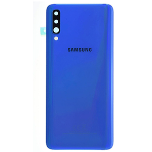 Vitre arrière Galaxy A70 Bleu