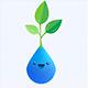 Application forêt smartphone rappel boire de l'eau