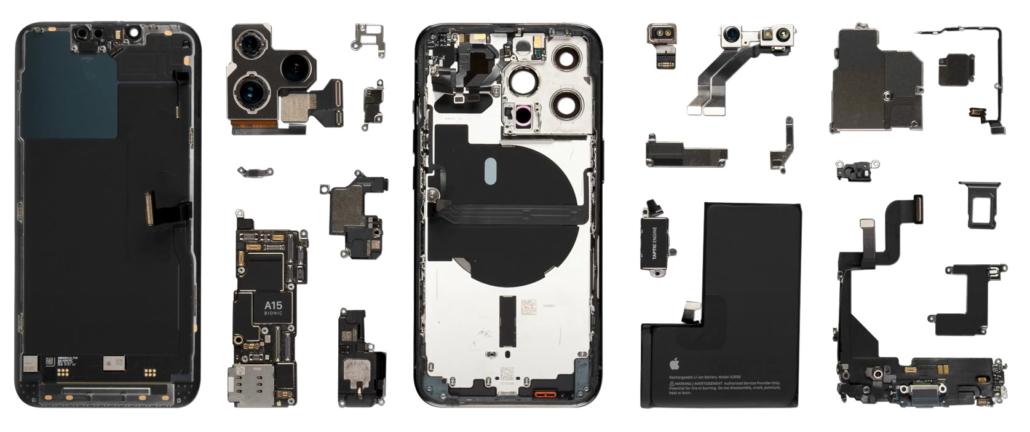 Démontage total iPhone 13 Pro