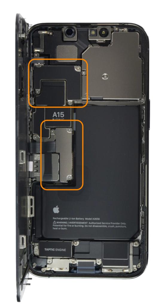 Démontage écran iPhone 13 Pro