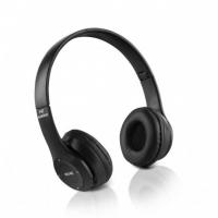 Casque stéréo Bluetooth sans fil Noir